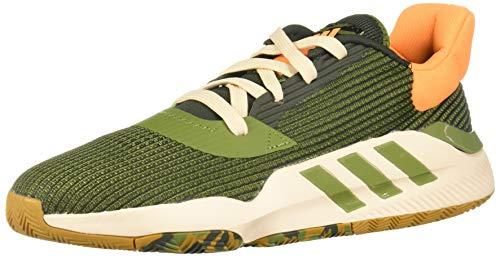 Adidas Pro Bounce 2019 Low, Zapatillas de Baloncesto para Hombre, Multicolor (Tieley/Olitec/Mesa 000), 49 1/3 EU
