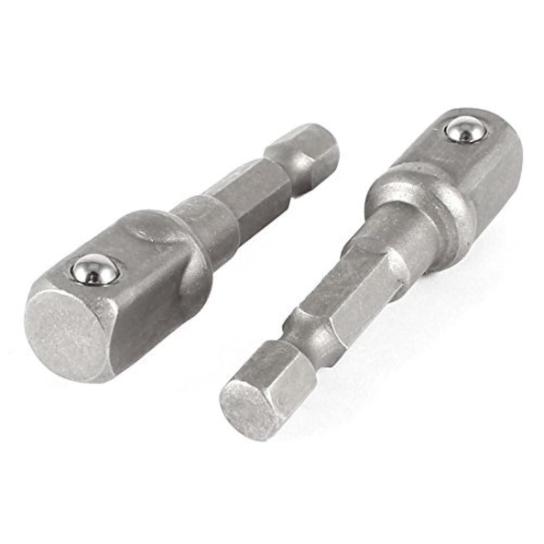 クラックポット採用するチケットDealMux×2ソケットアダプターセット1/4六角シャンク3/8インパクトドライバー/ドリルへ