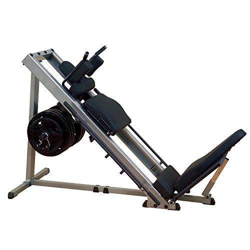 Pressa per gambe body-SOLID GLPH1100 + 120 kg Olympia Hantelscheibenset