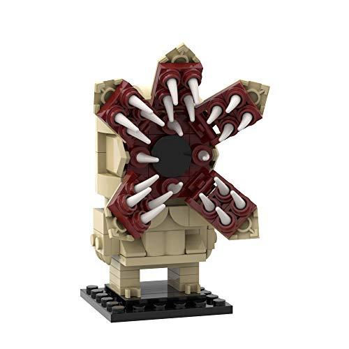 Demogorgon Building Blocks Toys Open Mouth Version,Mini Monsters Statues Decor for Desktop,Gifts for Boys(158 pcs)