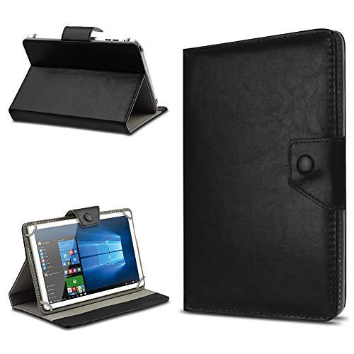 UC-Express Tasche Schutz Hülle für TrekStor SurfTab xintron i 10.1 Tablet Hülle Stand Cover Farbauswahl, Farben:Schwarz, Tablet Modell für:Acer Iconia A3-A10