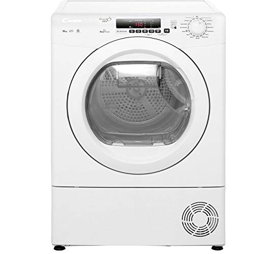 Candy GVSC10DE Freestanding B Rated Condenser Tumble Dryer - White