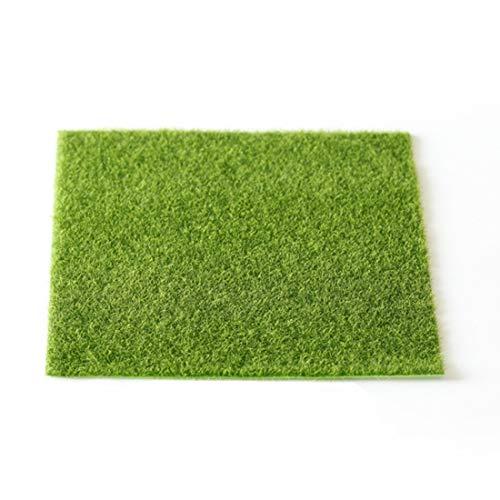 Fenghezhanouzhou Simulation de Micro-Paysage de Mousse de Gazon Vert Paysage Herbe Verte Accueil Creative Lawn Moss Jewelry Micro Simulation de pelouse écologique de Paysage créatif