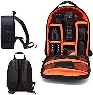 Rubik DSLR Camera Bag Shoulder Backpack for Men Women Photographers, Waterproof Professional DSLR/SLR Shockproof Camera Case for Sony Canon Nikon Olympus Samsung Panasonic Pentax