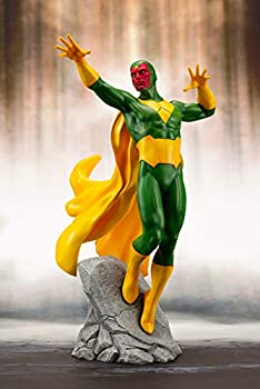 Kotobukiya Marvel Universe  Avengers Series  Vision Artfx+ Statue Multicolor