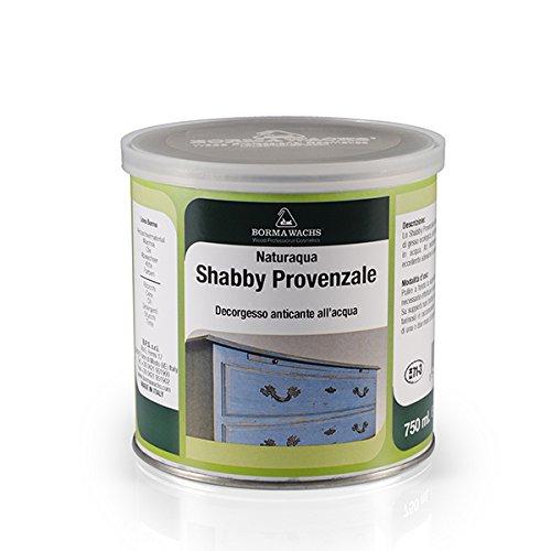 Shabby Chic Möbel Kreidefarbe matt Lack Landhaus Stil Vintage Look 375ml Shabby (Zitronengelb - 119)