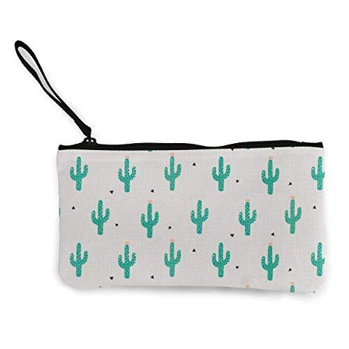 Monedero de lona para mujeres y niñas con diseño de calavera floral con correa