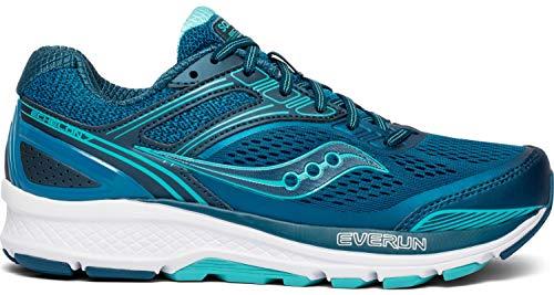 Saucony Women's Echelon 7 Running Shoe, Teal, 5.5 M US