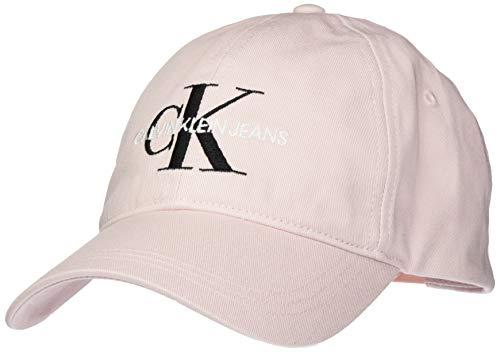 Calvin Klein CKJ Monogram Cap Gorro/Sombrero, Crystal Pink, Talla única para Mujer