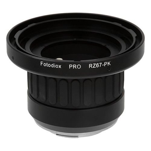Fotodiox Pro objetivo-adaptador Mamiya RB67-Objektiv para cámara Pentax K - adaptador con...