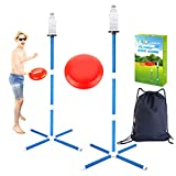 YEEBAY Outdoor Game Set - Lawn Games Yard Games - New Fun Disc Toss Game for Family Adult & Kids, Play at Beach, Grass, Sand, Concrete