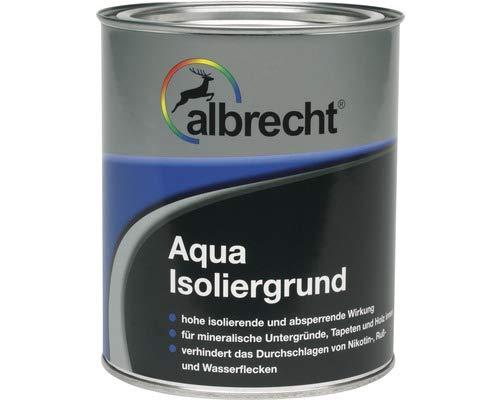 Albrecht Aqua Isoliergrund Sperrgrund weiß matt 2,5 l