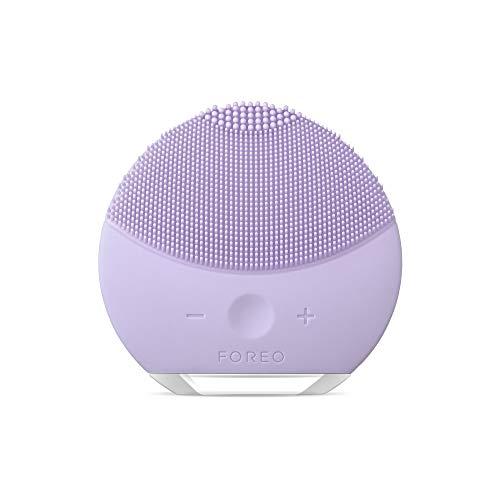 FOREO Luna Mini 2 Plus Compact Detergente e Rassodante Dispositivo Massaggio Viso per tutti i tipi di pelle, Viola Incantato