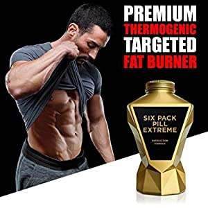LA Muscle Six Pack Pill Extreme (1 Pack) Natural Diet Pills for Men and Women - Weight Loss Diet Supplements - Premium Grade - Natural Ingredients - 30 Days Supply