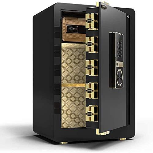 ZXNRTU Säkerhetsboxar för hemmet, Värdeskåp Home Password Fingerprint Office safe Invisible Stöldskydd Säng Safe
