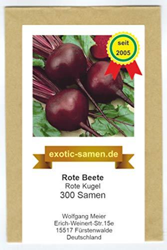 Rote Beete - Rote Rübe - Rote Kugel - 300 Samen