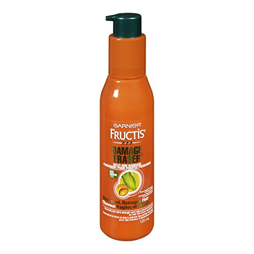 Garnier Fructis Damage Eraser Split-End Bandage Leave-in Treatment for Distressed, Damaged...