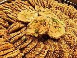 Dulces de Oriente Medio Barazek | Caja de Dulces 500gr de Galletas Con Pistachos y Crujientes Semillas de Sésamo | Origen Levantino Mediterráneo | Snack y Postre Crocante y Tosado | Dorimed