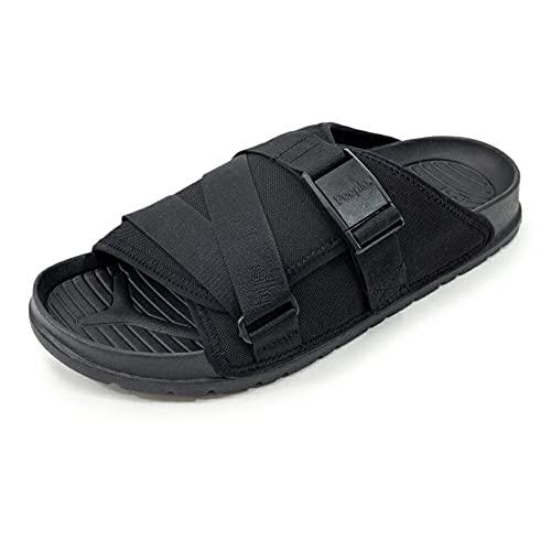 [People Footwear ピープルフットウェア] スライドサンダル シャワーサンダル【LENNON CHILLER】 Black(ブラック) US4.0(22.0cm)