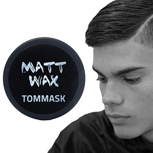 Tommask Matt Wax mattes Männer Haarwachs Starker Halt nicht fettend professioneller Gebrauch Unisex Made in Italy