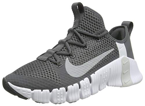 Nike Herren Free Metcon 3 Trail Running Shoe, Iron Grey/Particle Grey-Pure Platinum, 45 EU