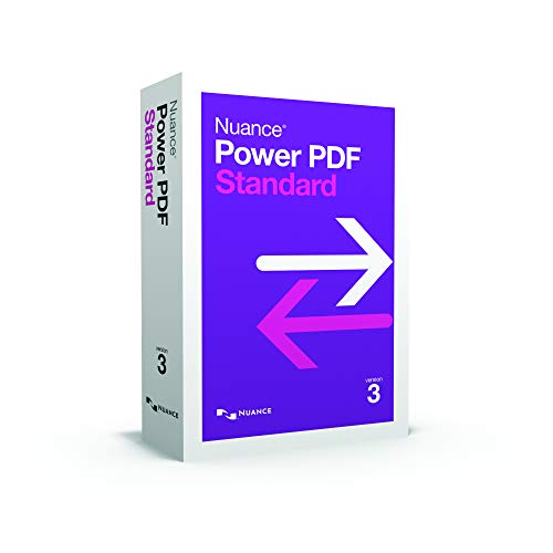 Nuance Power PDF 3 Standard|3|1|99|Windows|Disc|Disc