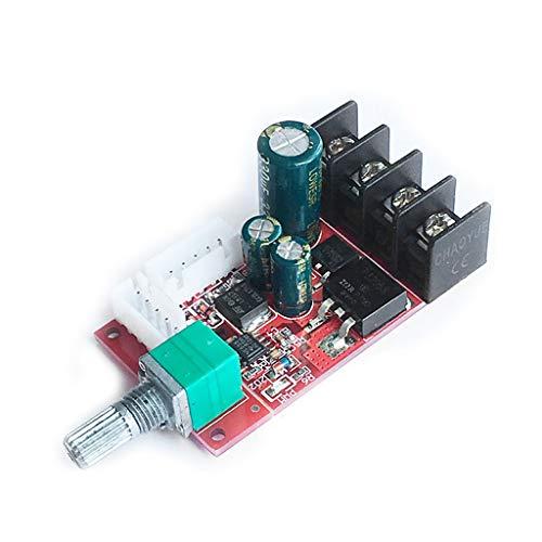 Buwei DC10V-50V 15A PWM DC Módulo de Controlador de Velocidad del Motor Placa de atenuación LED con Interruptor