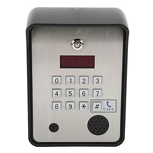 アクセス制御システム、ドアエントリーシステムワイヤレスインターホン双方向音声携帯電話アクセス制御システム(オフィス用キーパッド付き)(ベータ版)