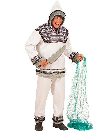 Widmann wdm5715a–Kostüm für Erwachsene Eskimo, Weiß, XL