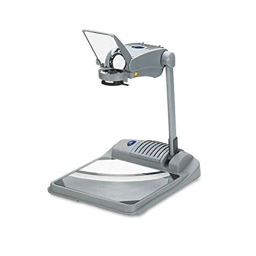 Apollo Venture Open Head Ultra Portable Overhead Projector, 14.6 x 23.5 x 6.4 Inches, Gray (V4000M) ;