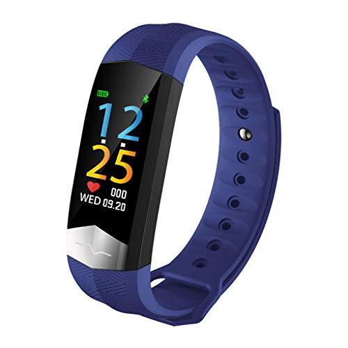 FüR Android&Ios, Harpily Fitness Armband Mit Pulsmesser Fitness Tracker Wasserdicht Farbbildschirm Herzfrequenz-Blutdruck-EKG Wasserdichter Smart Watch SchrittzäHler