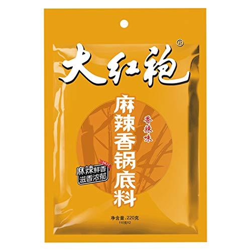 OuYang Hengzhi Dried Pot Sauce Seasoning Ma La Xiang Guo Di Liao 麻辣香锅底料 220g/7.76oz