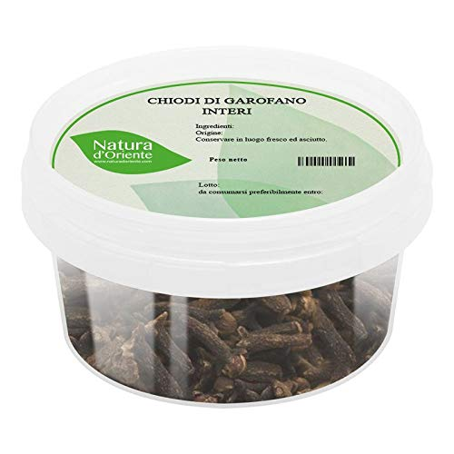 NATURA D'ORIENTE - Chiodi di Garofano Interi 100g | Prima Qualità | Confezionato in un barattolo ermetico salva aromi