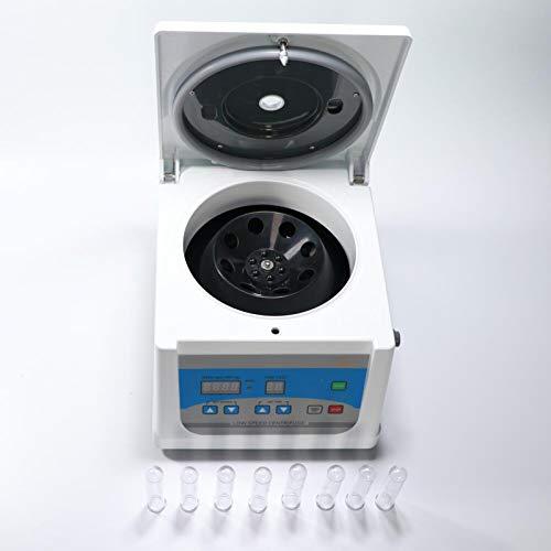PRP Centrifuge - 10/15ml Lab Benchtop Centrifuges with Digital Display Laboratory Low Speed Desktop Centrifugal Machine 100-4000rpm