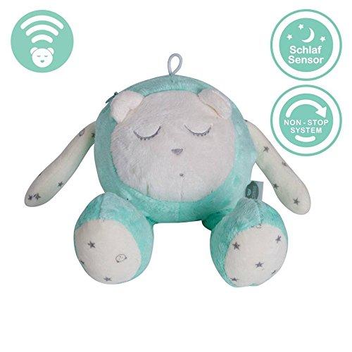 myHummy mascotte qui dort avec capteur de sommeil (menthe)