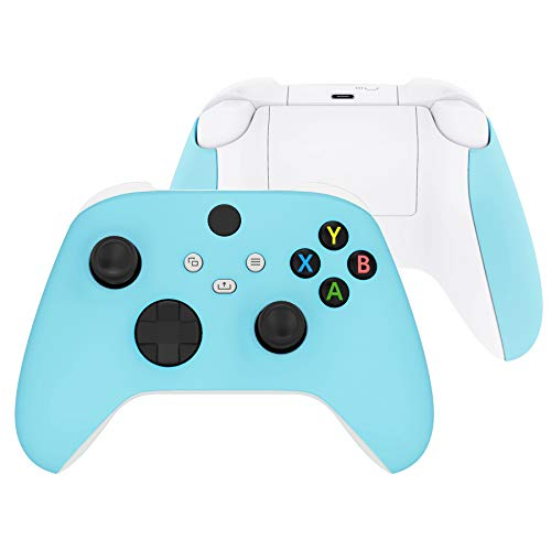 eXtremeRate Soft Touch Heaven Blue Replacement...