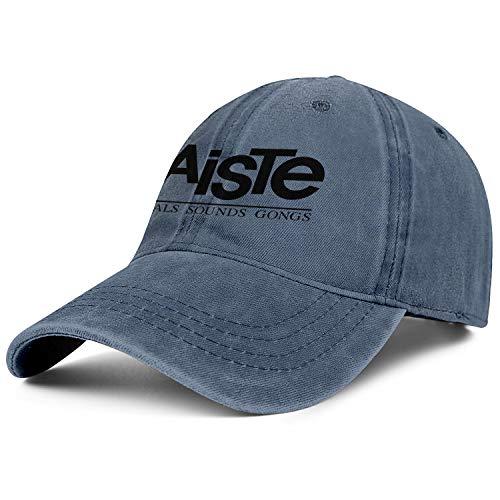 Men/Womens Blue Paiste-Cymbals-Sounds-Gongs-Logo- Adjustable Peak Cap Best Baseball Hat