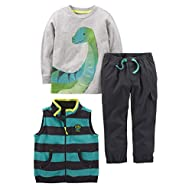 Simple Joys by Carter's Boys' Toddler 3-Piece Playwear Set