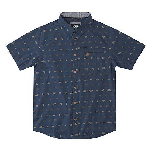 Hippytree Camisa Settings Woven Navy