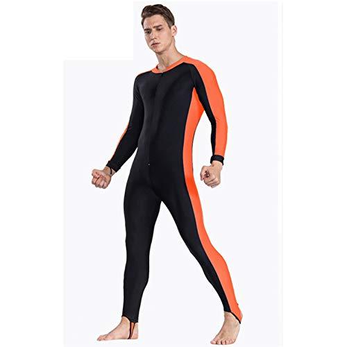 HCCX UPF 50+ Lycra Duiken Wetsuit anti UV een stuk rash guard lange mouw zwemkleding surf pak Mannen Vrouwen Sun Protect
