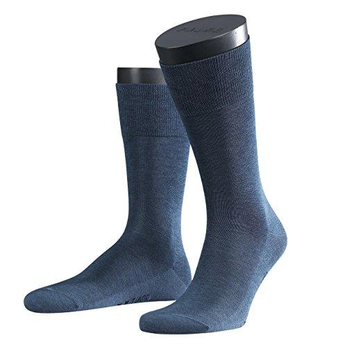 FALKE City Herren Socken Tiago 2er Pack, Größe:43/44;Farbe:Jeans