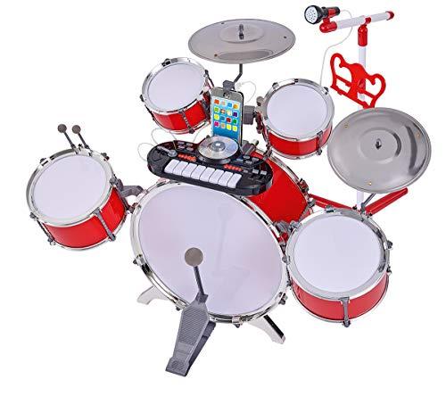 Simba 106834437 Plug & Play Drumset