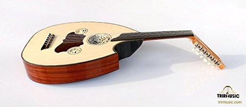 Türkische Professional Hälfte Schnitt E-Oud UD String Instrument aoh-201g