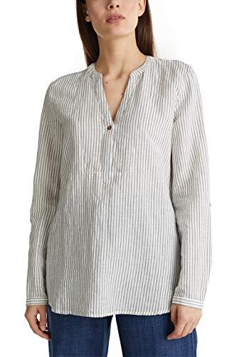 ESPRIT Damen 030EE1F312 Bluse, 403/NAVY 4, 36