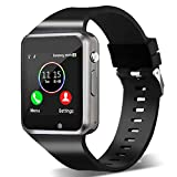 Smart Watch,Unlocked Touchscreen Smartwatch Compatible Android/bluetooth Call Text Notification Sync Music Player Camera Smart Watches for Women Men