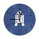 スターウォーズオールドレベル 壁掛け時計 おしゃれ デジタル ミュート 円形 掛け時計 置き時計 目覚まし時計 インテリア 装飾