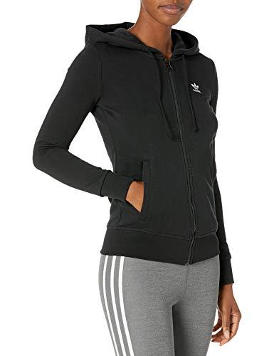 adidas Originals Trefoil Essentials - Sudadera con capucha para mujer - negro - XXS