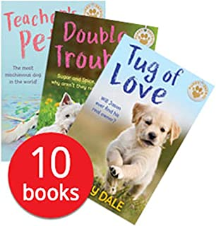 Jenny Dale Puppy Patrol Collection 10 Books Set (Teachers Pet, Big Ben, Abandoned, Double trouble, Star Paws, Tug of Love, Saving Skye, Tuffs Luck, Red Alert, The Great Escape)
