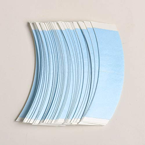 36 Pcs/Bag Double Sided Adhesive Tapes for Hair Extension Lace Front Support Toupee Wigs (blue color)