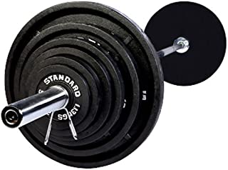 Serious Steel Fitness USA Sports 300LB Olympic Weight Set